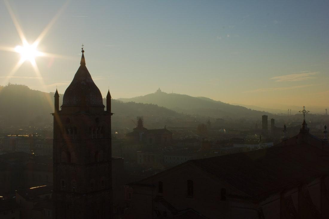 San Luca Basilica from Torre Prendiparte