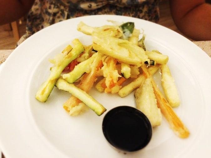 Photo of vegetables tempura