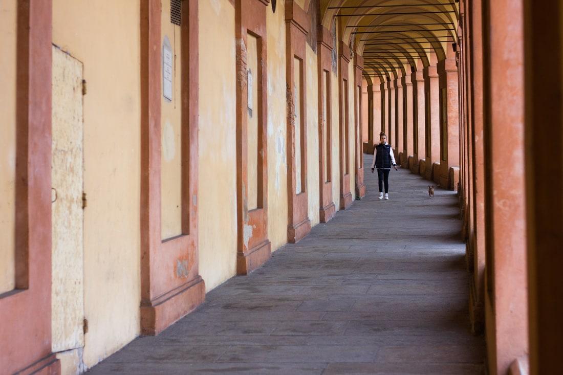Bologna - San Luca Portico
