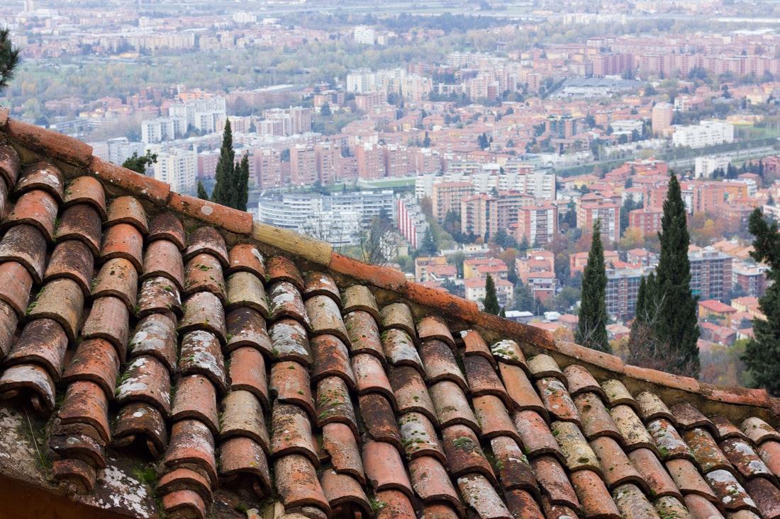 Bologna - San Luca Portico - Roofs