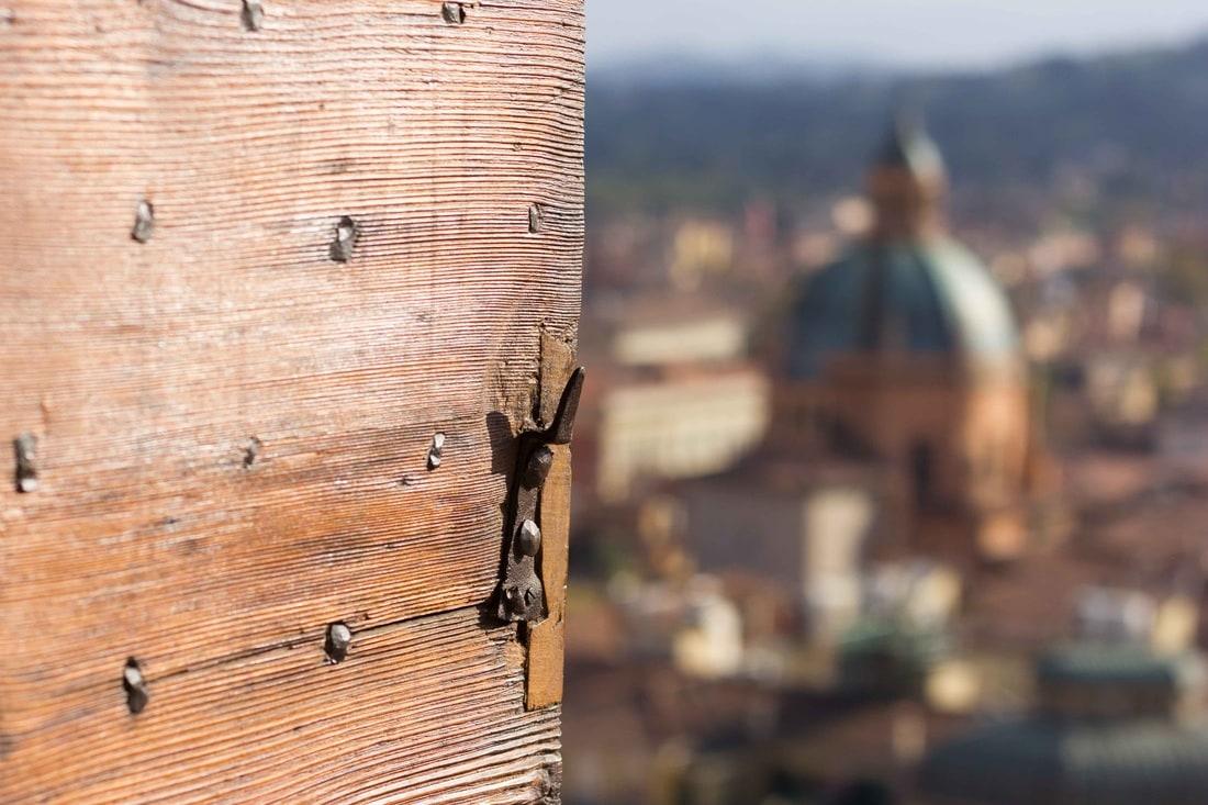 Bologna San Pietro Cathedral - View of Santa Maria della Vita