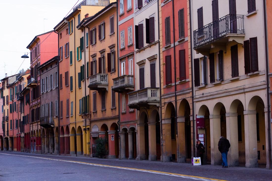 Via Saragozza Bologna