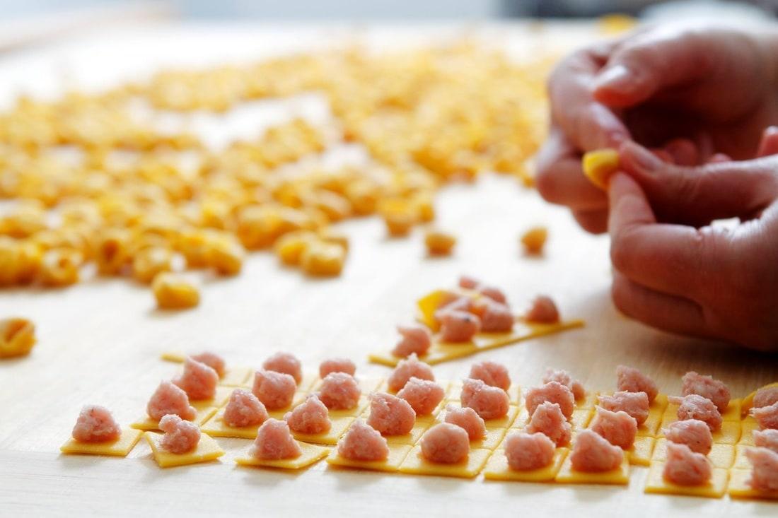 Da Sandro Al Navile restaurant Bologna Handmade Tortellini