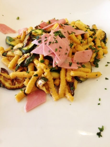 Photo of Sfogliarina passatelli with mortadella and zucchini