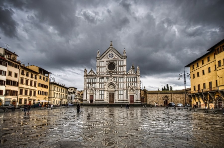 Day trip from Bologna - Florence, Basilica Santa Croce