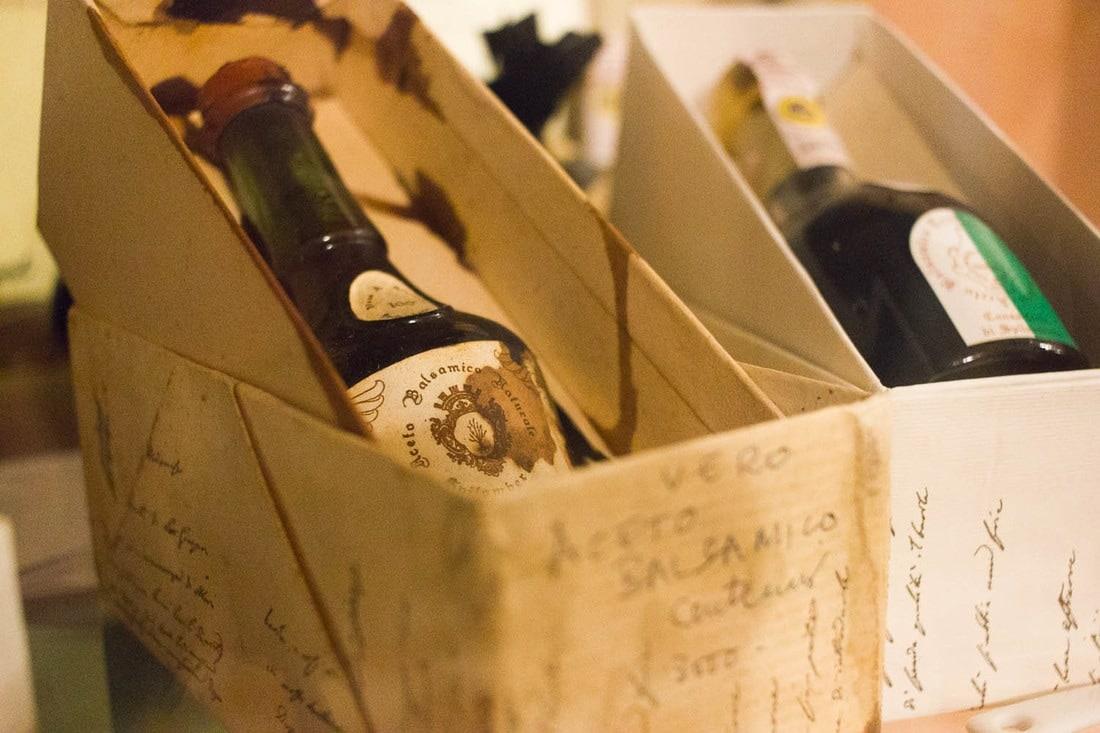 Balsamic vinegar of Modena - The oldest bottles