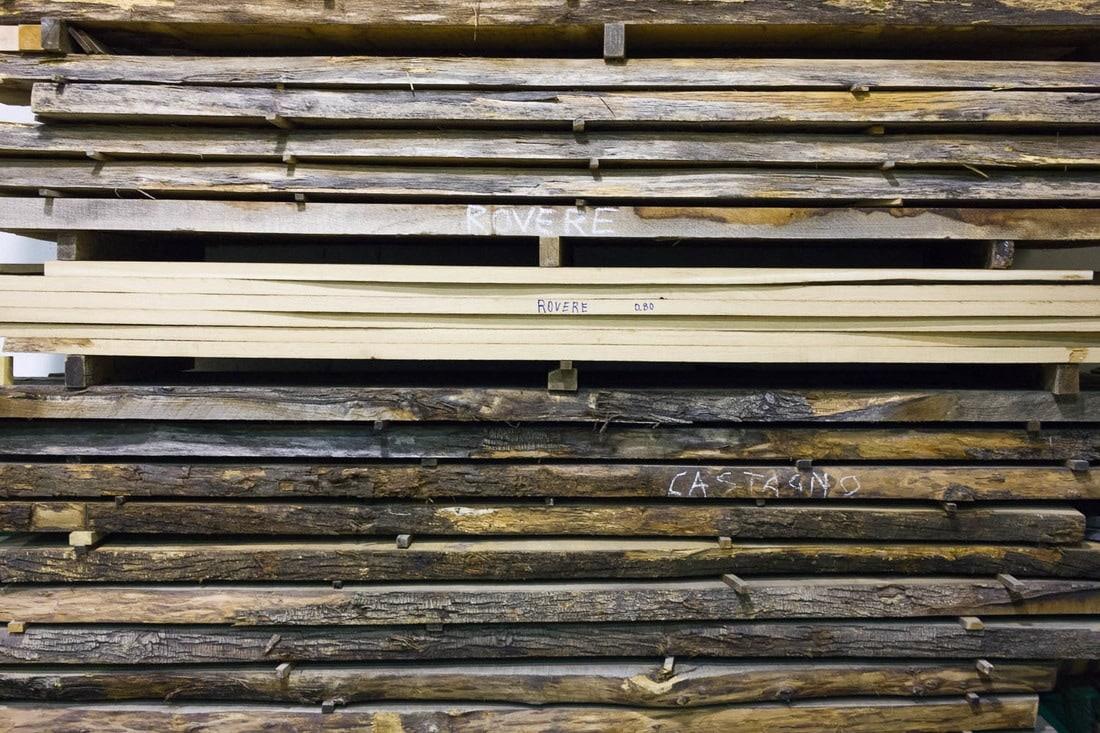 Balsamic vinegar - wood to make barrels