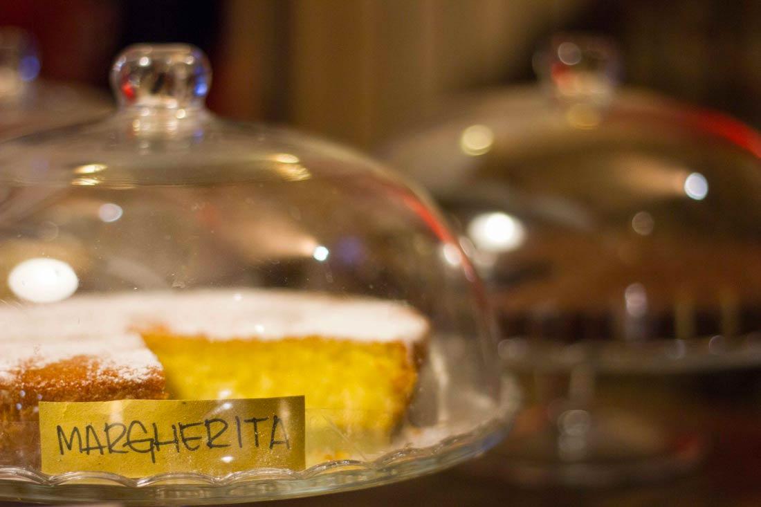 Bar Senza Nome Bologna - Margherita cake