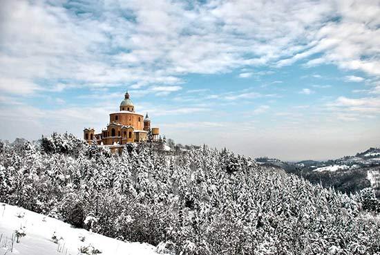Bologna in winter season