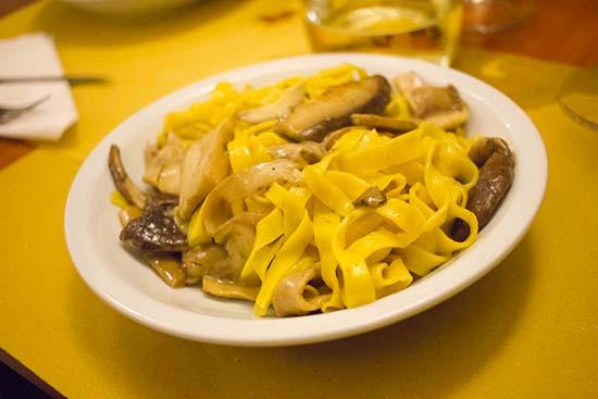 Favourite tagliatelle in Bologna