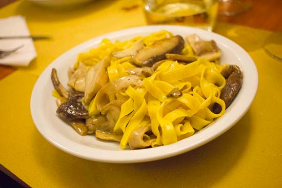 Best tagliatelle in Bologna
