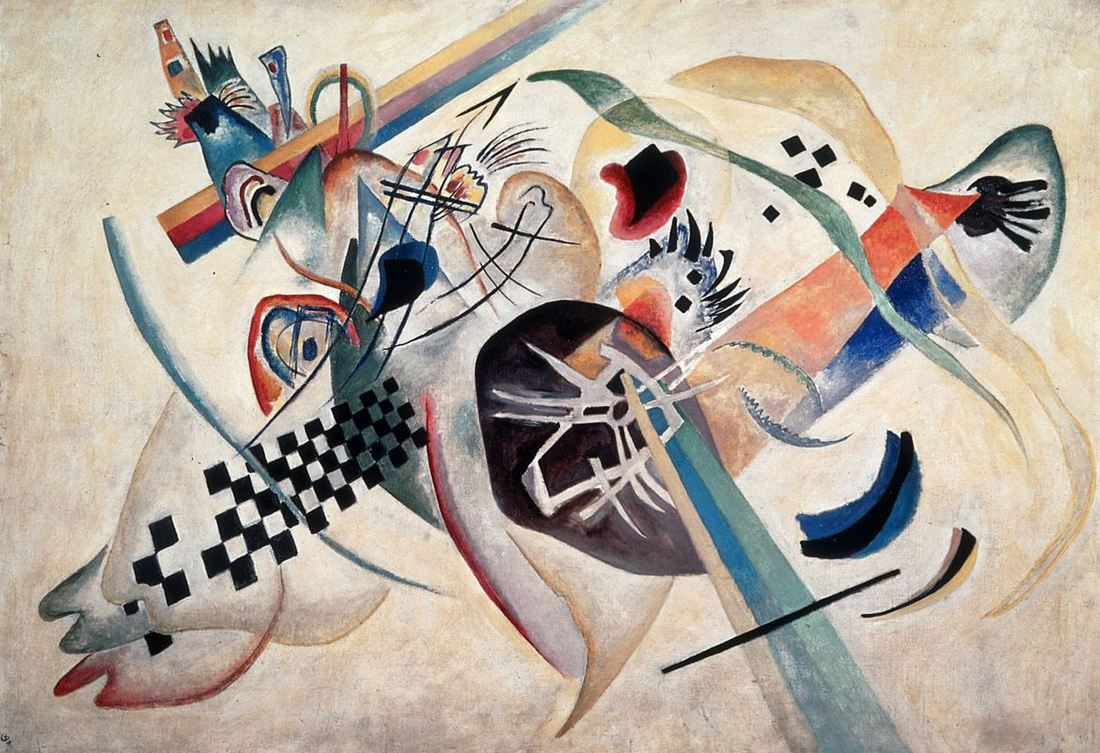 Bologna art exhibition 2018 - Revolutija - Kandinsky On white