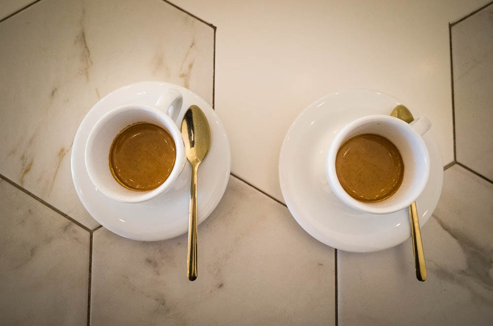 24 hours in Bologna - Espresso coffee for breakfast