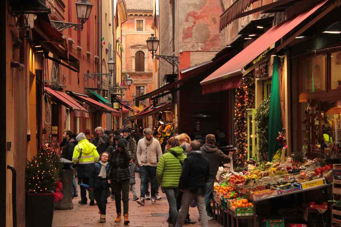 Bologna food markets - Quadrilatero