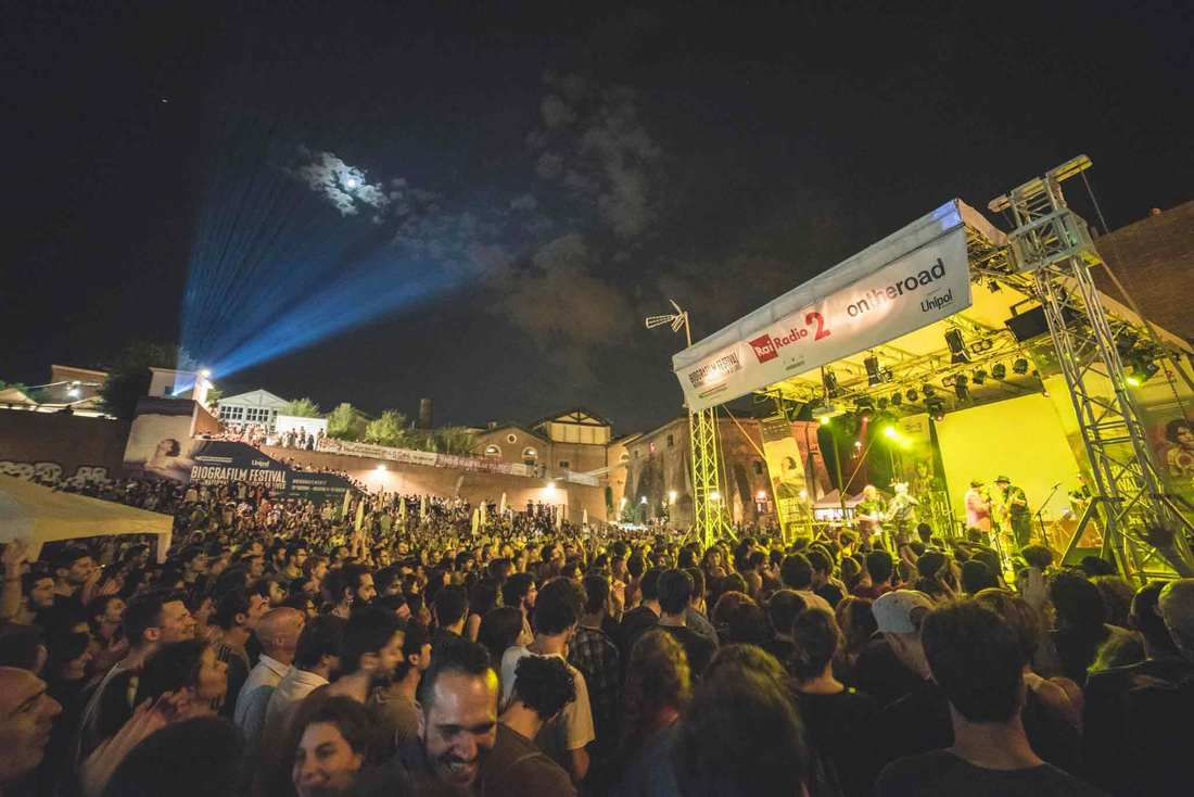 Summer in Bologna - Biografilm festival at Cavaticcio Park