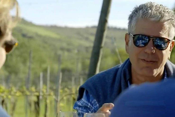 Bourdain in Bologna
