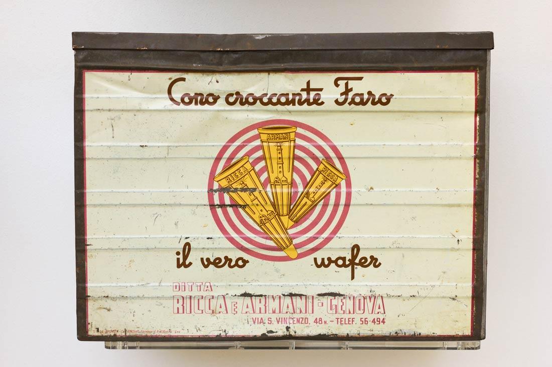 Carpigiani Gelato Museum cono box