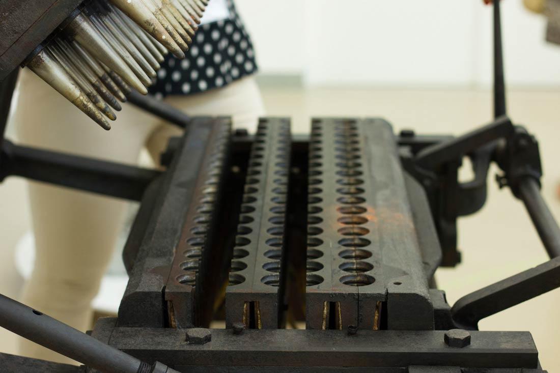 Carpigiani Gelato Museum Bologna - cono machine
