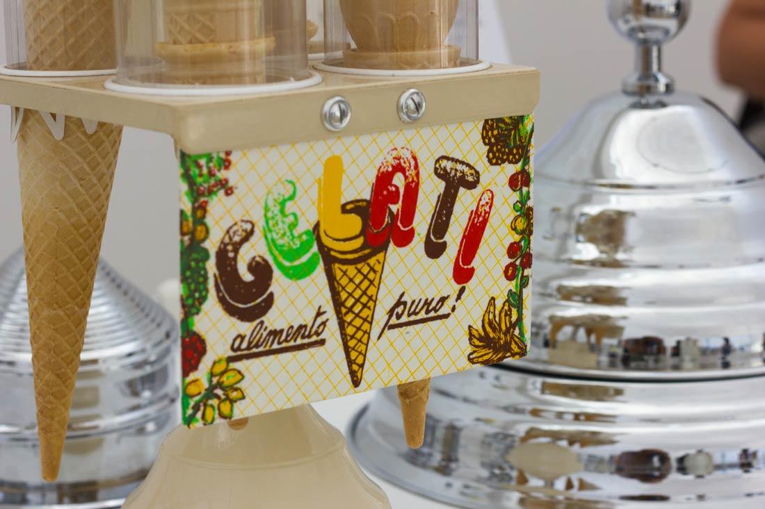 Carpigiani Gelato museum gelati cart