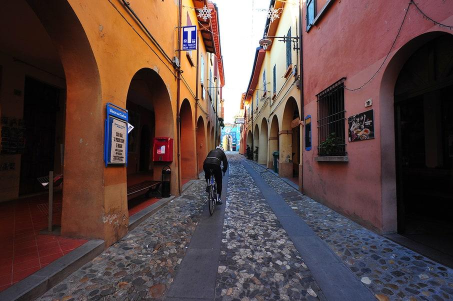 Dozza - Via XX Settembre street