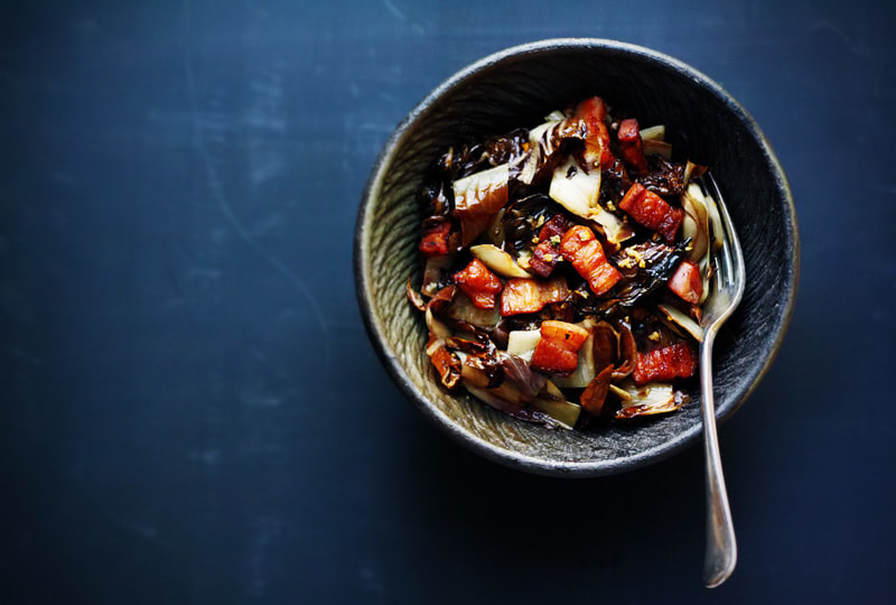 How to use Balsamic - Roasted Radicchio, Speck and Balsamic Salad