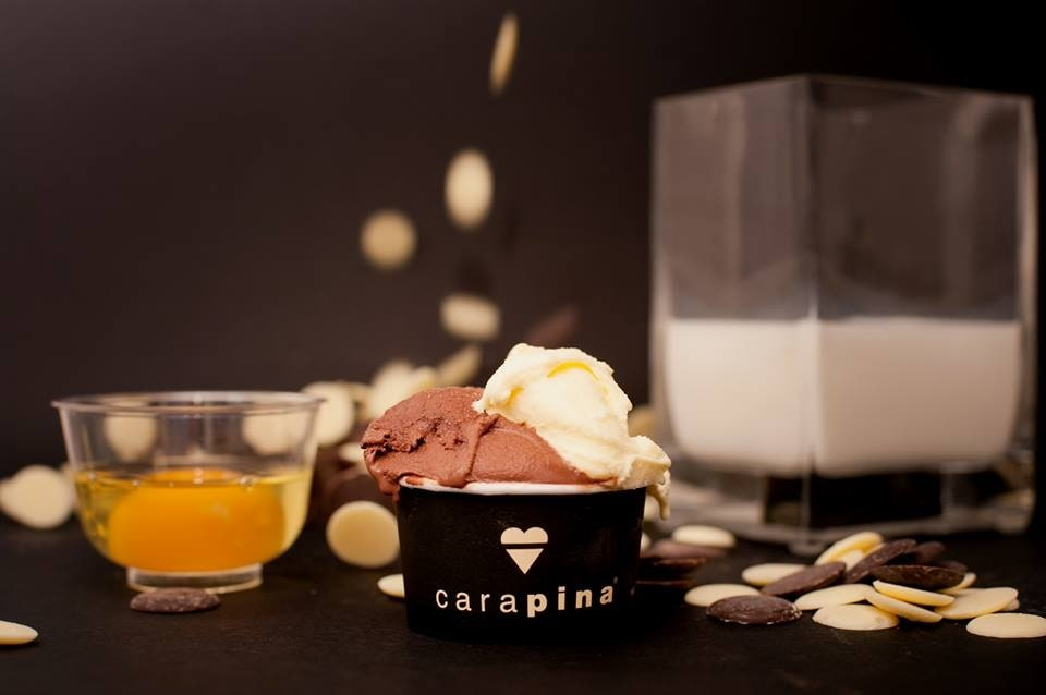 Where to eat in Florence - Gelato at Carapina