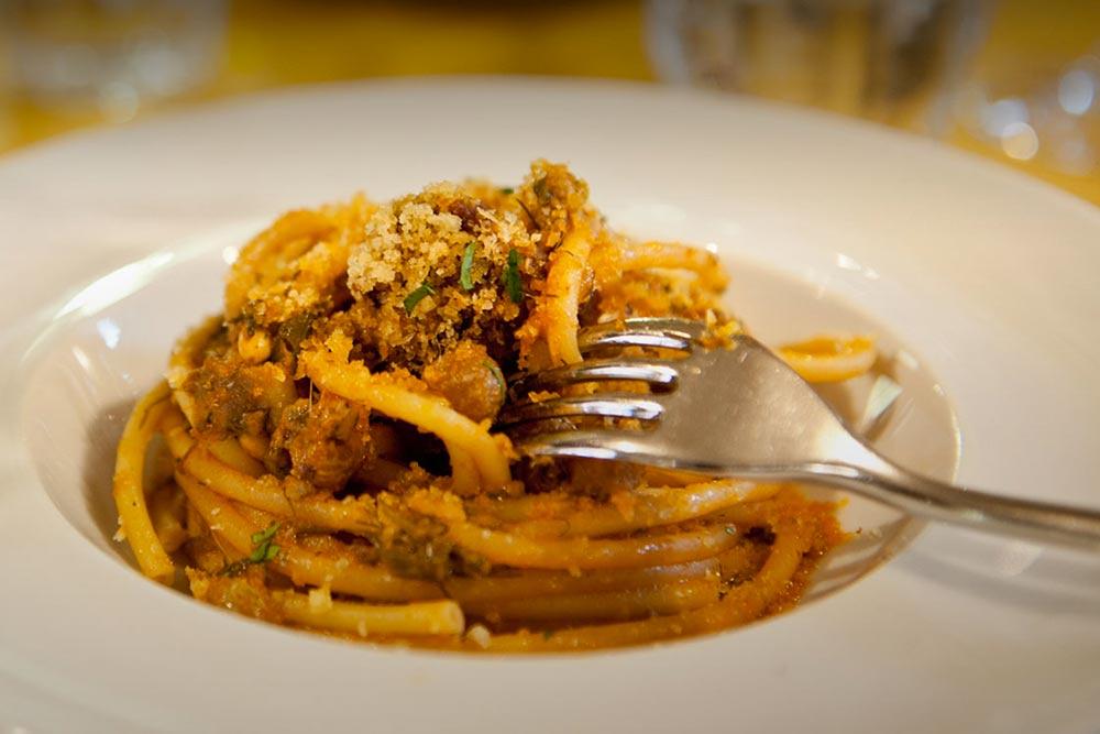 Fish restaurant in Bologna - Pane e Panelle