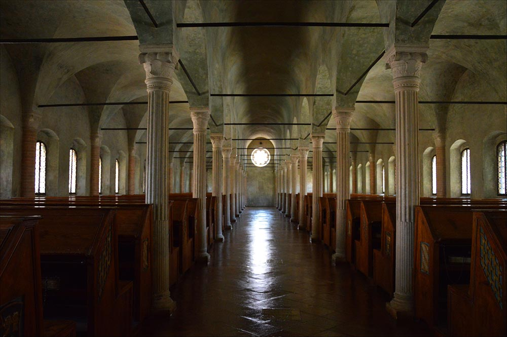 Libraries in Emilia Romagna - Biblioteca Malatestiana Cesena