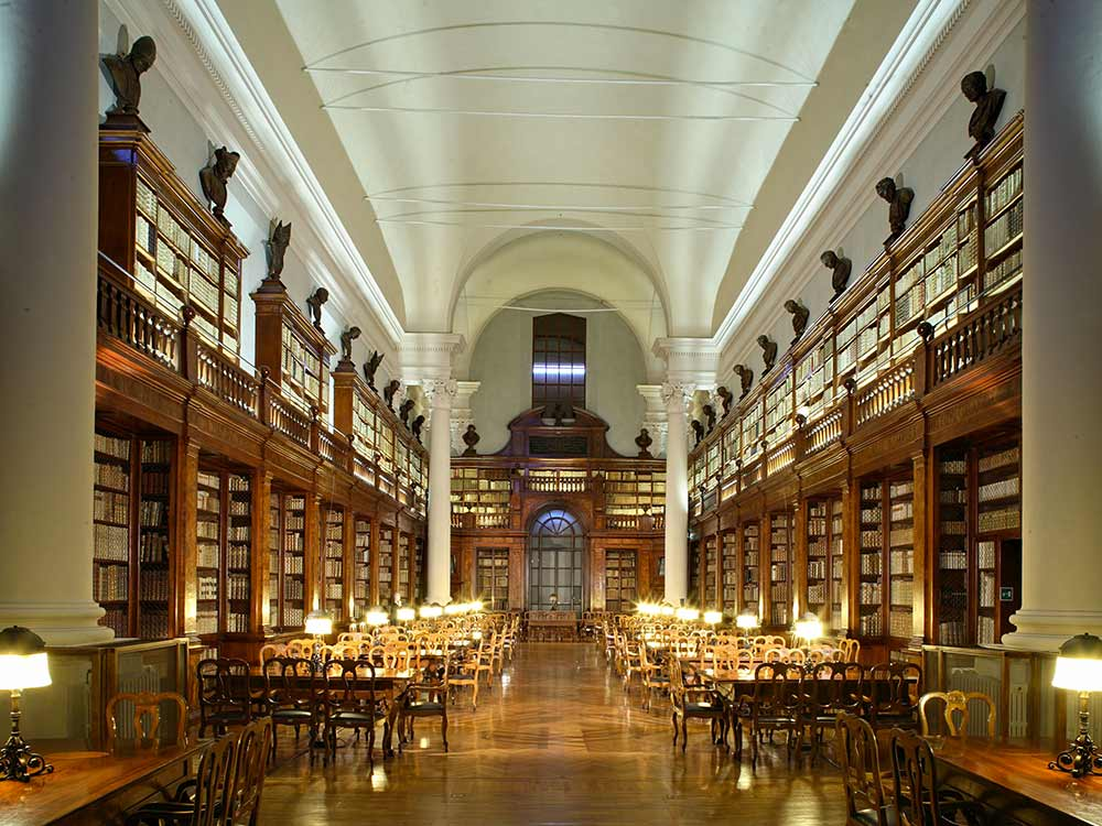 Libraries in Emilia Romagna - Biblioteca Universitaria Bologna