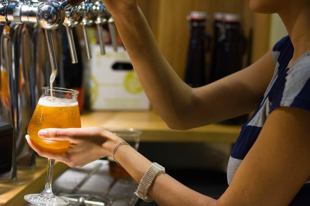 Mercato di Mezzo Bologna - Baladin beer tap