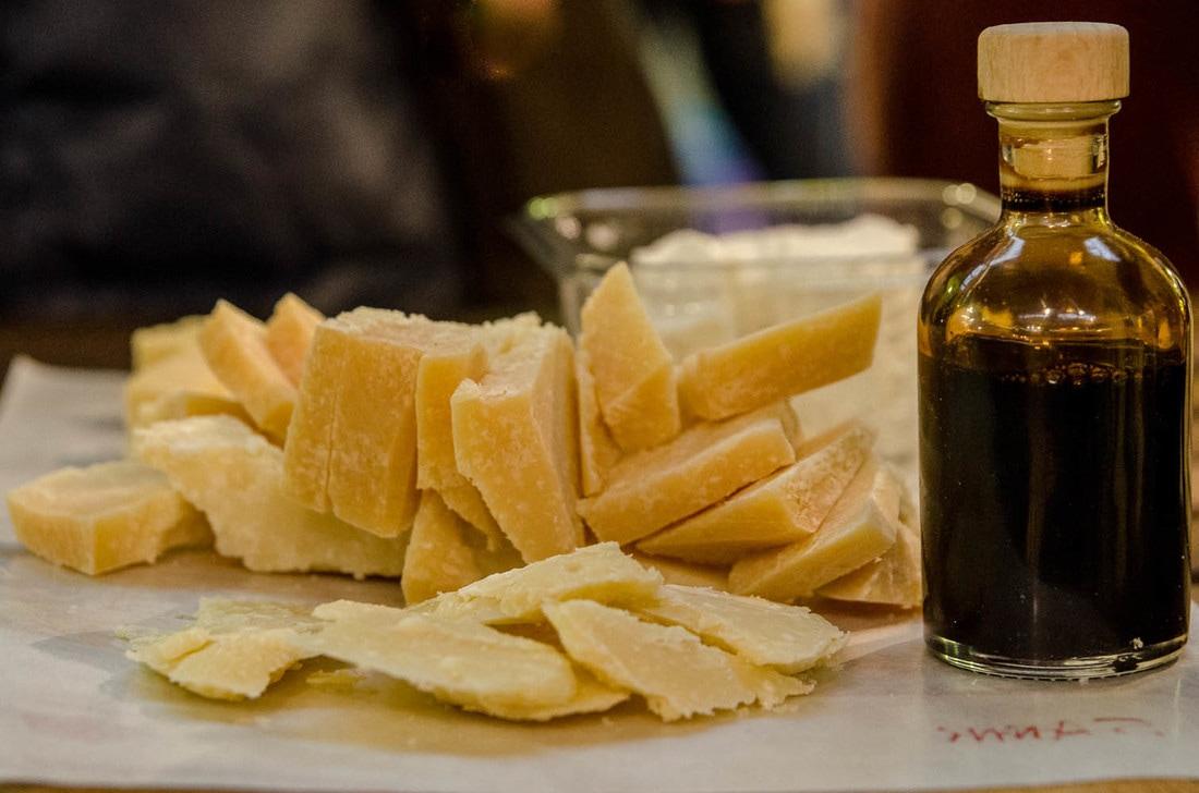 Modena Food Tour - Parmigiano Reggiano Tasting