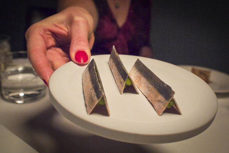 Osteria Francescana in Modena - amouse bouche