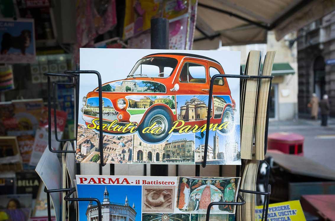 Parma - postcard