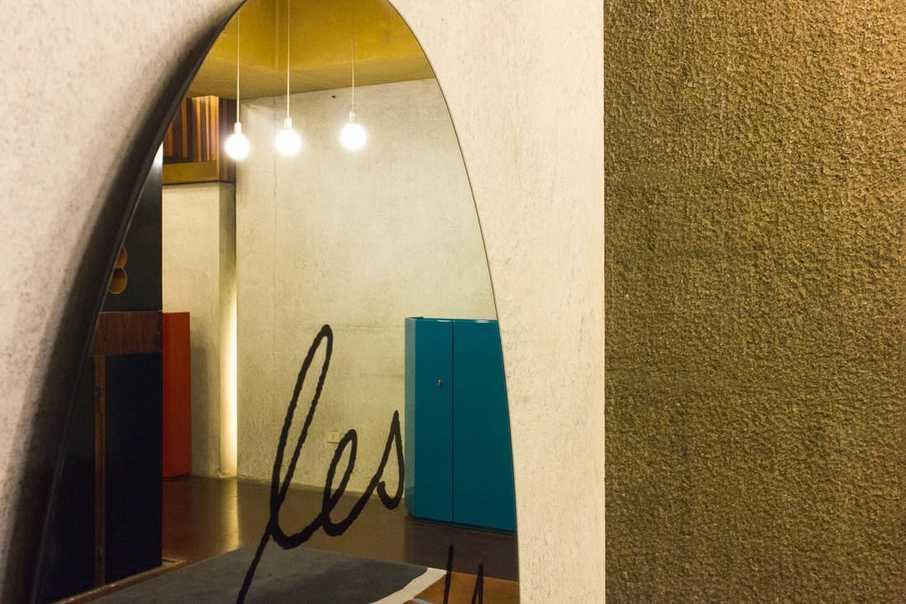 Gavina shop by Carlo Scarpa, Bologna - Mirror
