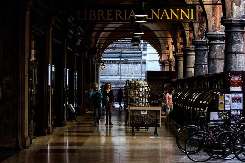 Souvenirs from Bologna - Libreria Nanni