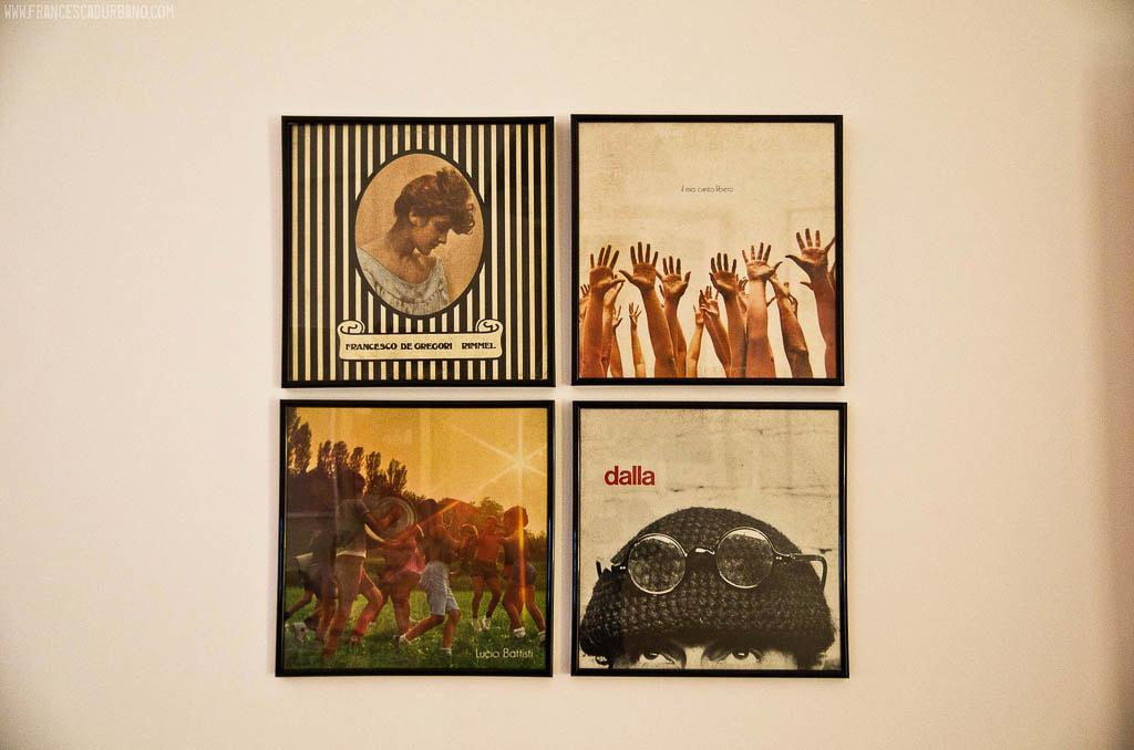Original souvenirs in Bologna - Vinyl