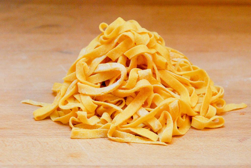 How to eat tagliatelle in Bologna - Handmade tagliatelle