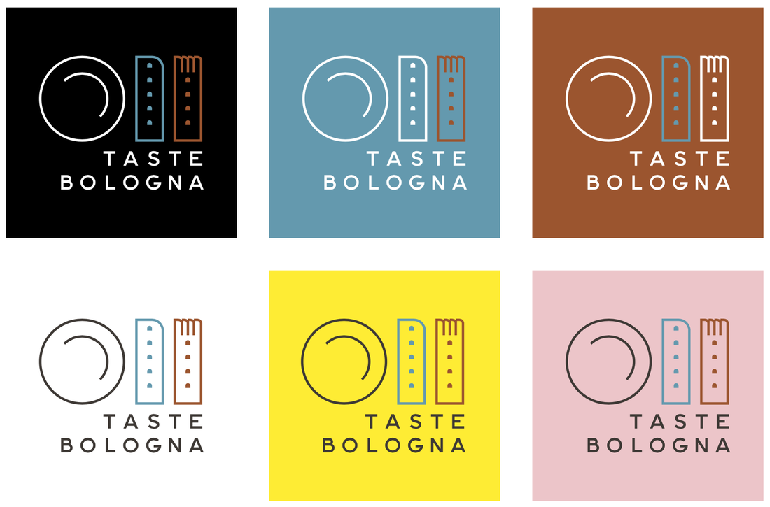 Taste Bologna new logo colors