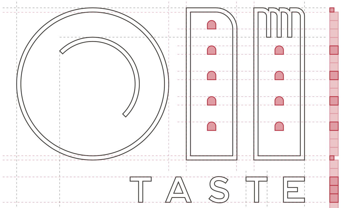 Taste Bologna new logo design