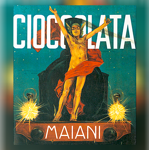 Majani Chocolate poster by Dudovich