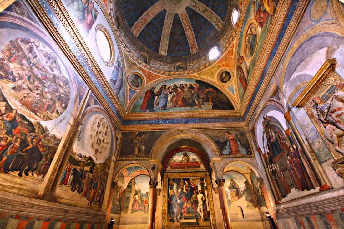 San Giacomo Maggiore Church in Bologna