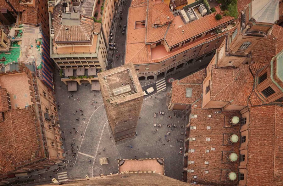 Bologna panoramic view